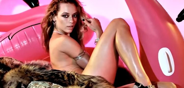 Hannah Ferguson Bares All For 'LOVE' Magazine's Advent Calendar