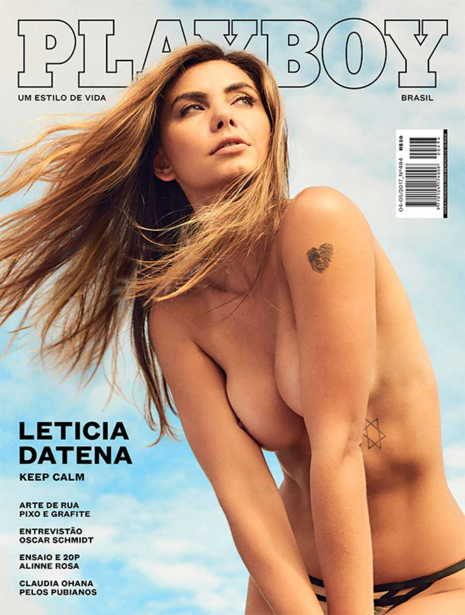 Leticia Datena nova capa da Playboy