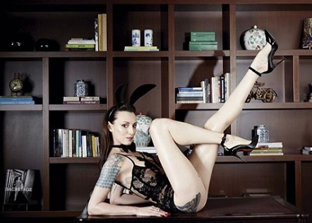 Marina Dias na Playboy bimestral de Junho/Julho
