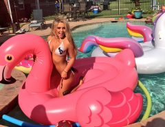 pool party das cheerleaders Houston texans