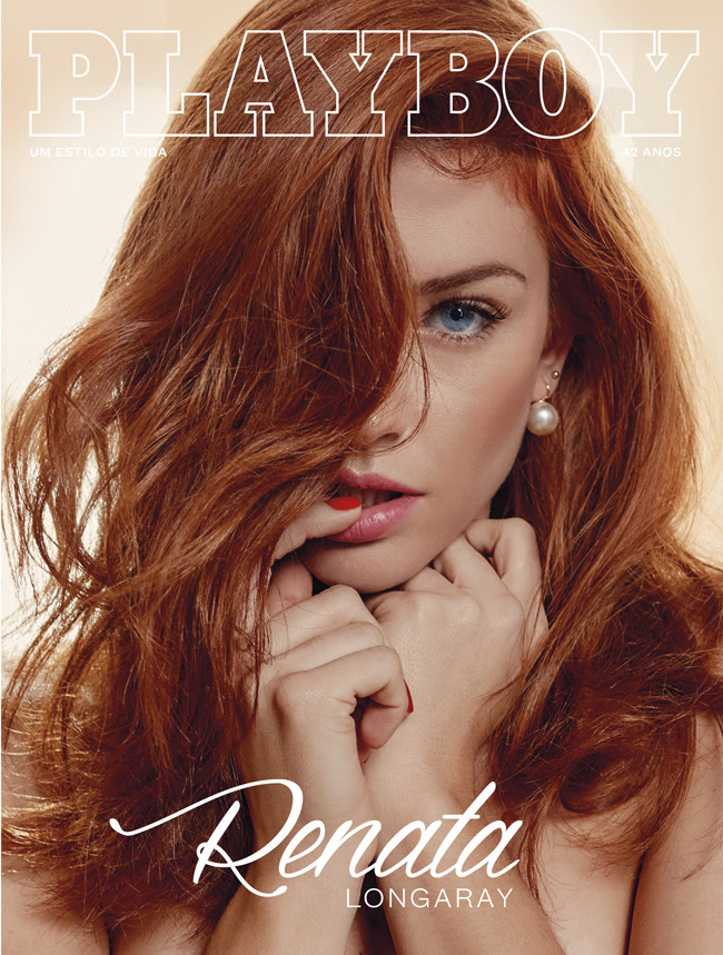 Capa ra colecionador da Renata Longaray na capa da Playboy de inverno