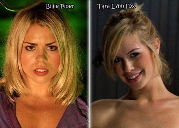 7 Atrizes pornôs que são parecidas com celebridades