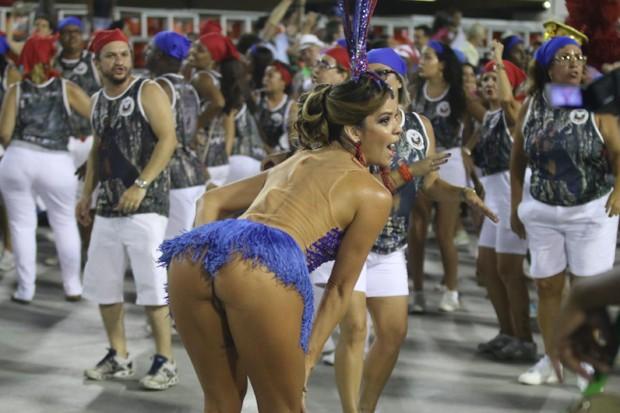Denise Dias Ensaios das Escolas de Samba RIO 2018