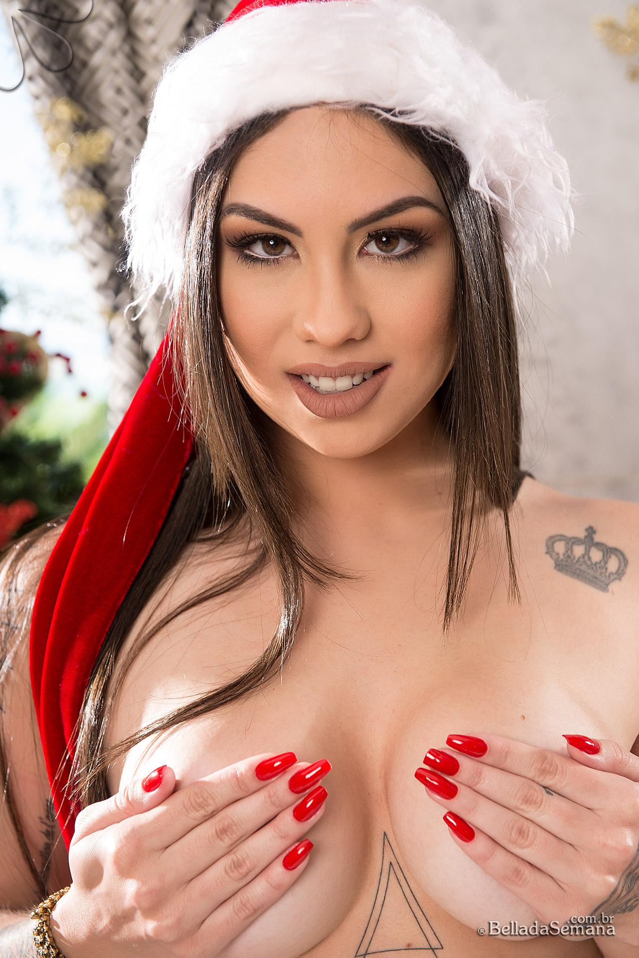 Especial de Natal da Bella da Semana: Emiliana Agacci