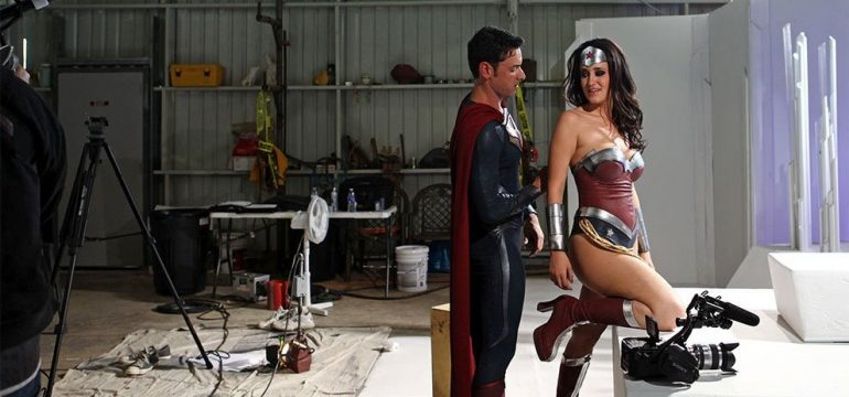 Fotos dos bastidores do filmes pornôs