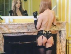 Bella Thorne só de lingerie