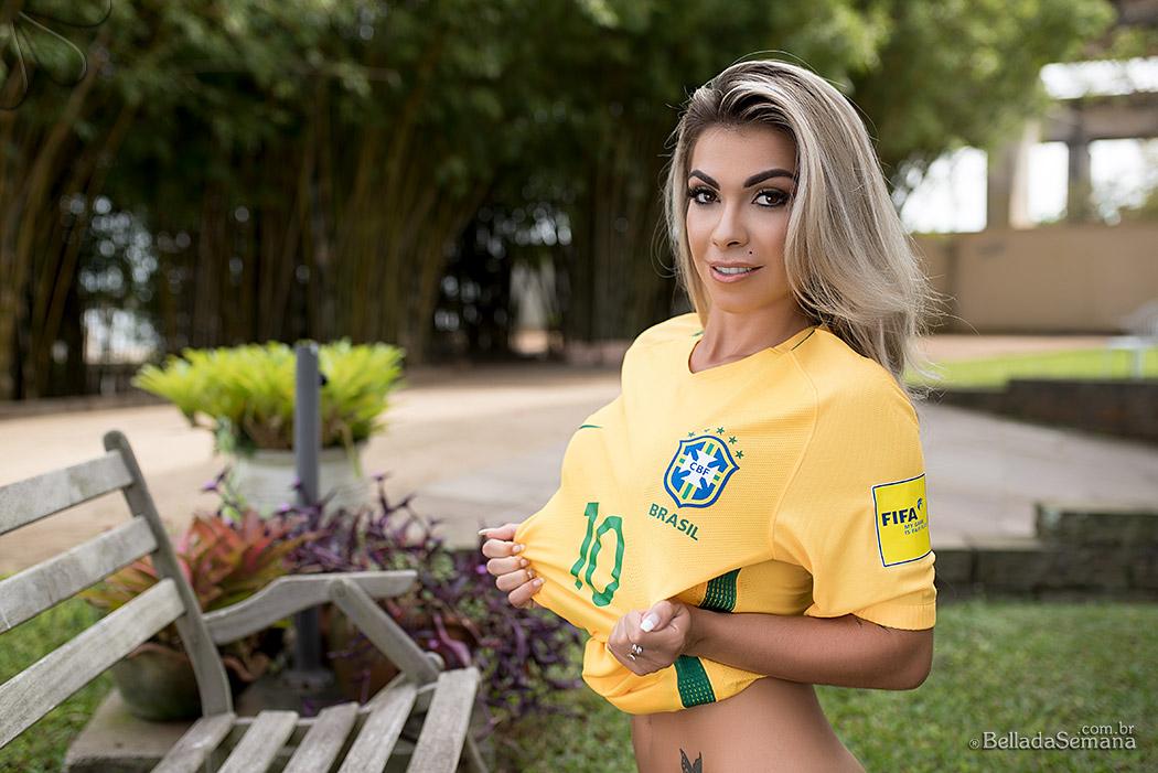 Bruna Corrêa blogueira fitness e destaque na Bella da Semana