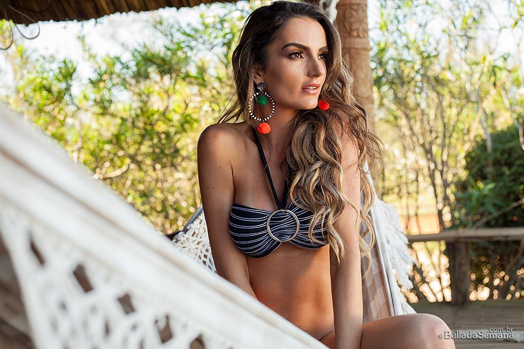 Bruna Magro modelo Internacional em sua terceira participação na Bella da Semana