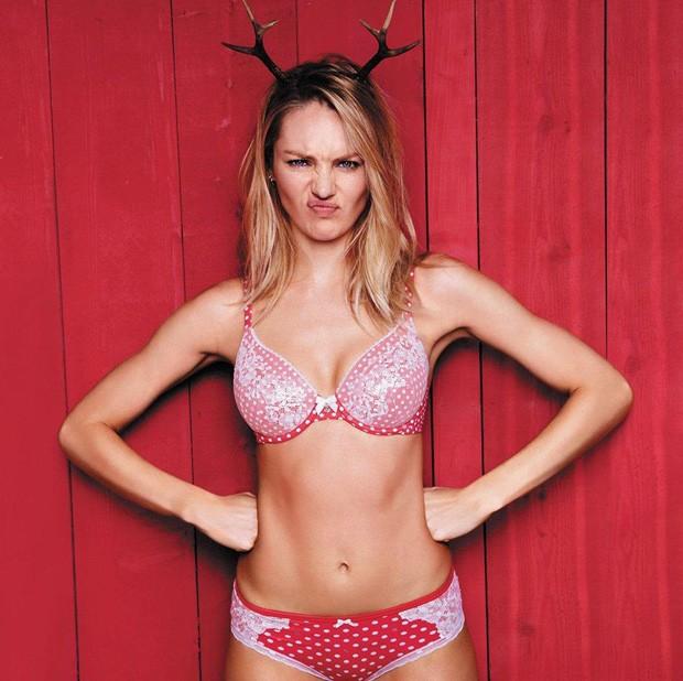 Campanha da Victoria's Secret de lingeries de natal