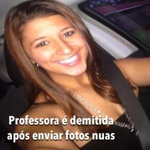 Professora envia fotos nuas para alunos